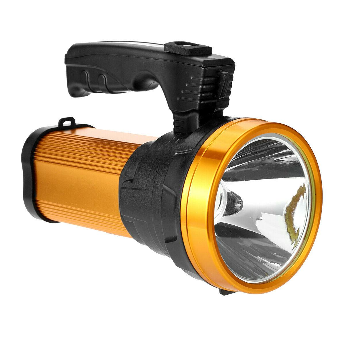 Rechargeable Super LED Searchlight Handheld Flashlight