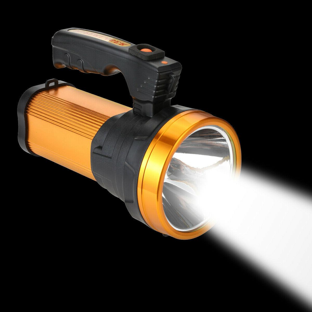 Rechargeable Super Bright Searchlight Flashlight