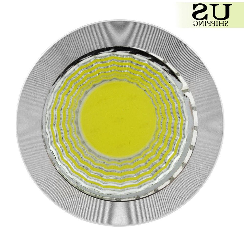 2/5/10x 6W/9W/12W GU10/MR16 COB LED Spotlight Light Down