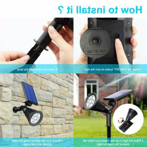 2 4 Waterproof 180 Adjustable Path Wall
