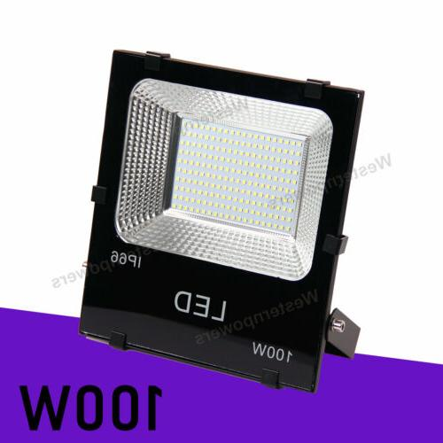2 x 100W Led Garden Yard Square Cool White