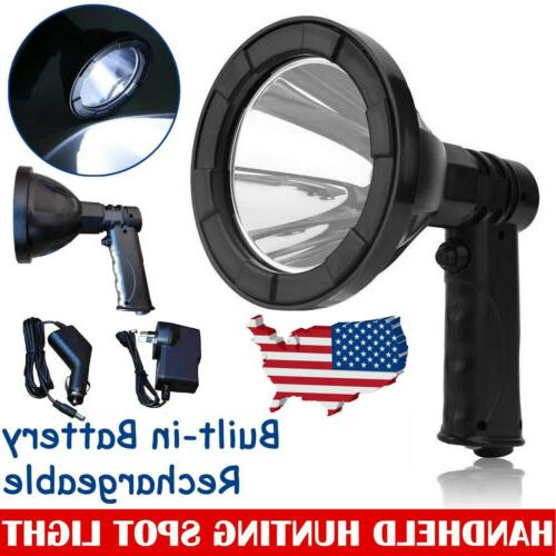 200000lm led hand held camping spot light