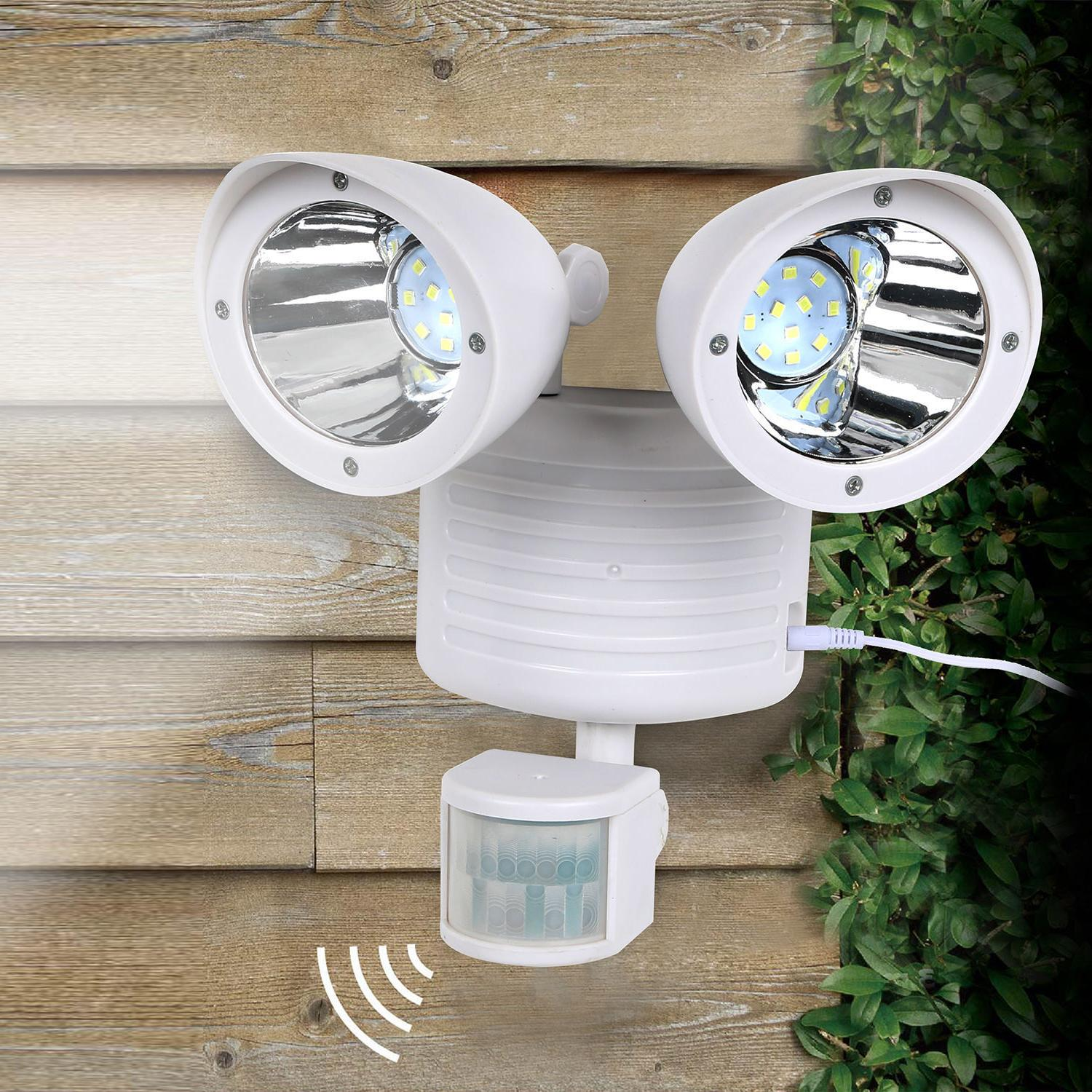 22 Dual Security Detector Solar Motion Sensor Outdoor Floodlight