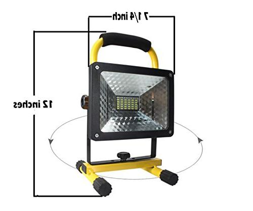 2400 lumens, 36 LED Portable Rechargeable Emergency