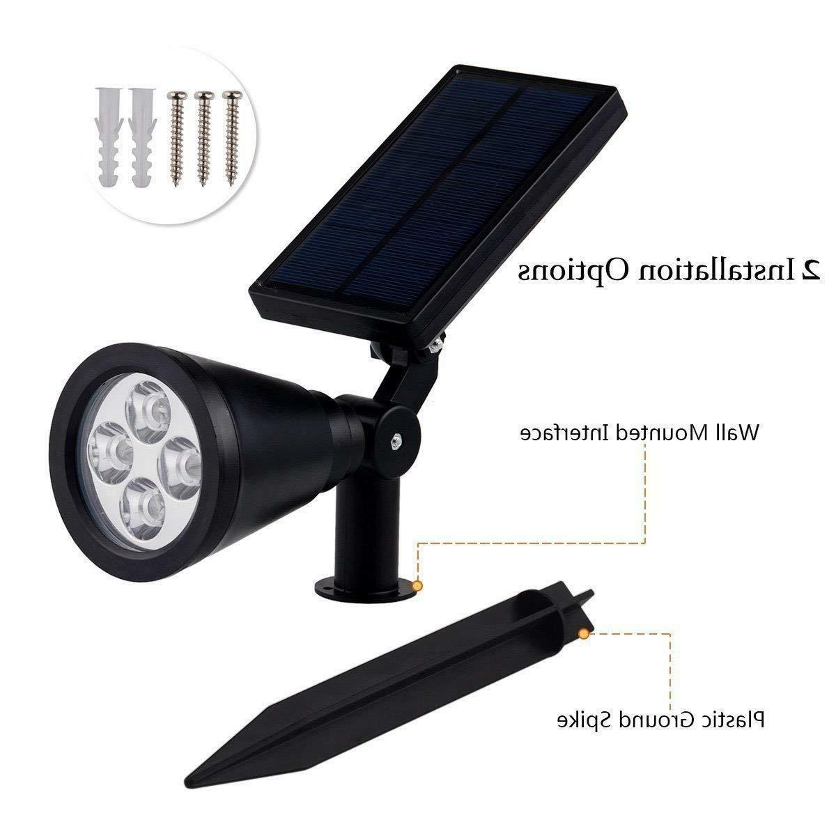 Solar Light LED Outdoor Lamp