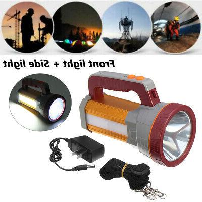 3000LM Aluminum Waterproof Rechargeable Searchlight Lamp