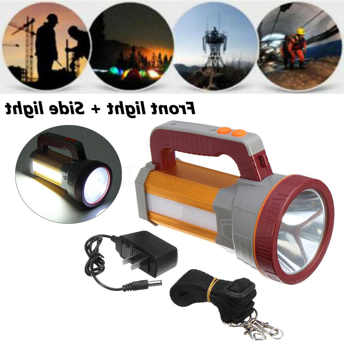 3000lm aluminum usb waterproof rechargeable searchlight camp