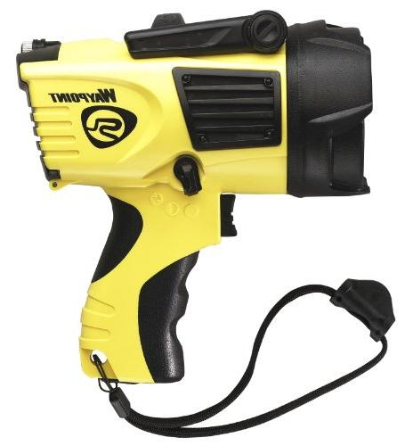 Streamlight 44910 Spotlight with 120-Volt AC Charger, Yellow