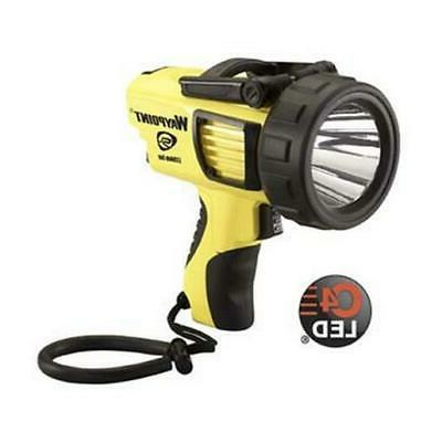 44910 yellow rechargeable waypoint c4 led spotlight
