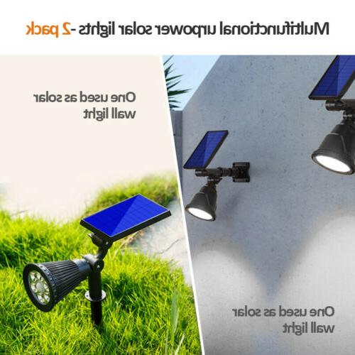 Solar LED Adjustable Outdoor Wall
