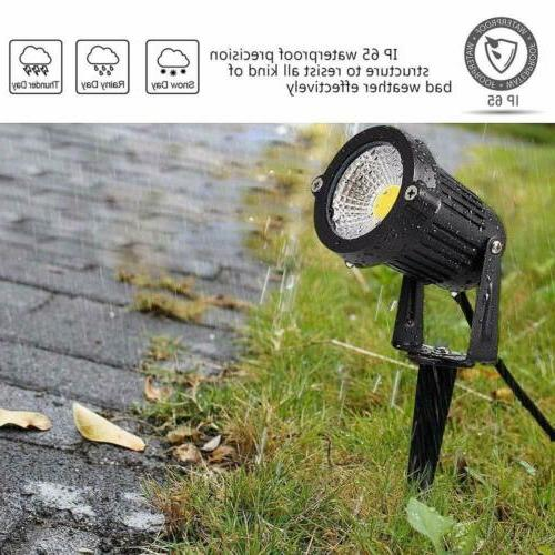 4PCS LED Landscape Light Outdoor 3000K Path Waterproof 12V