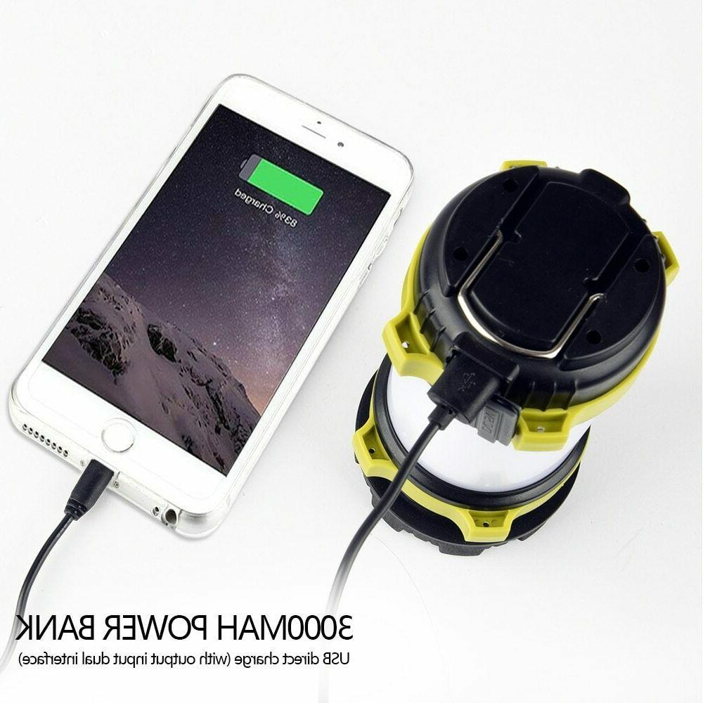 85000LM LED Camping Rechargeable Light Emergency