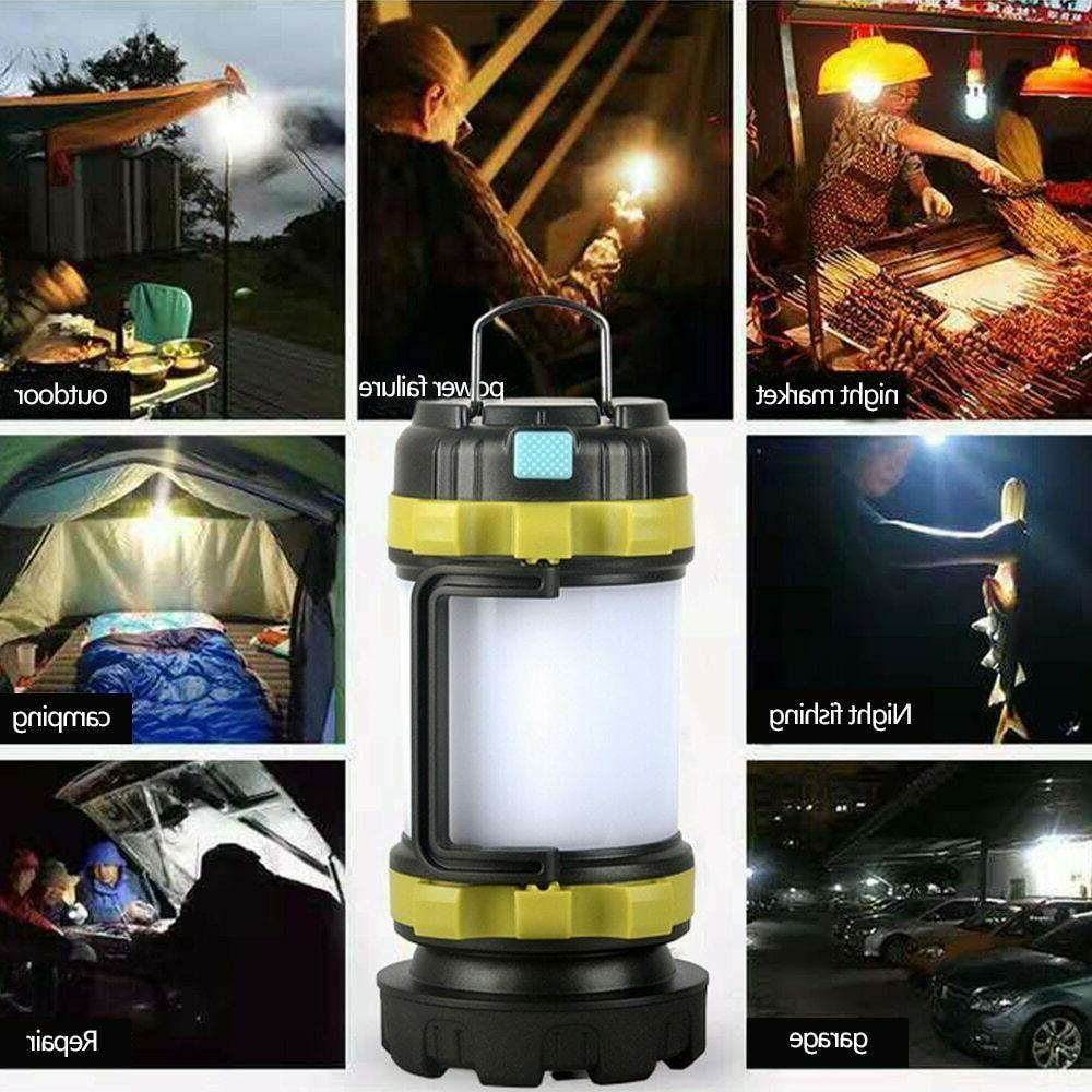 85000LM LED Camping Lantern Rechargeable Work Emergency Light