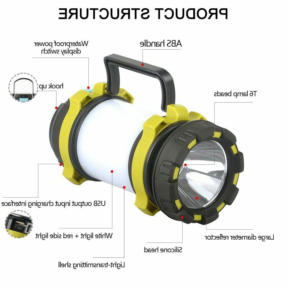 85000LM Rechargeable Work Emergency