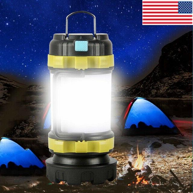 85000lm led camping lantern rechargeable work light