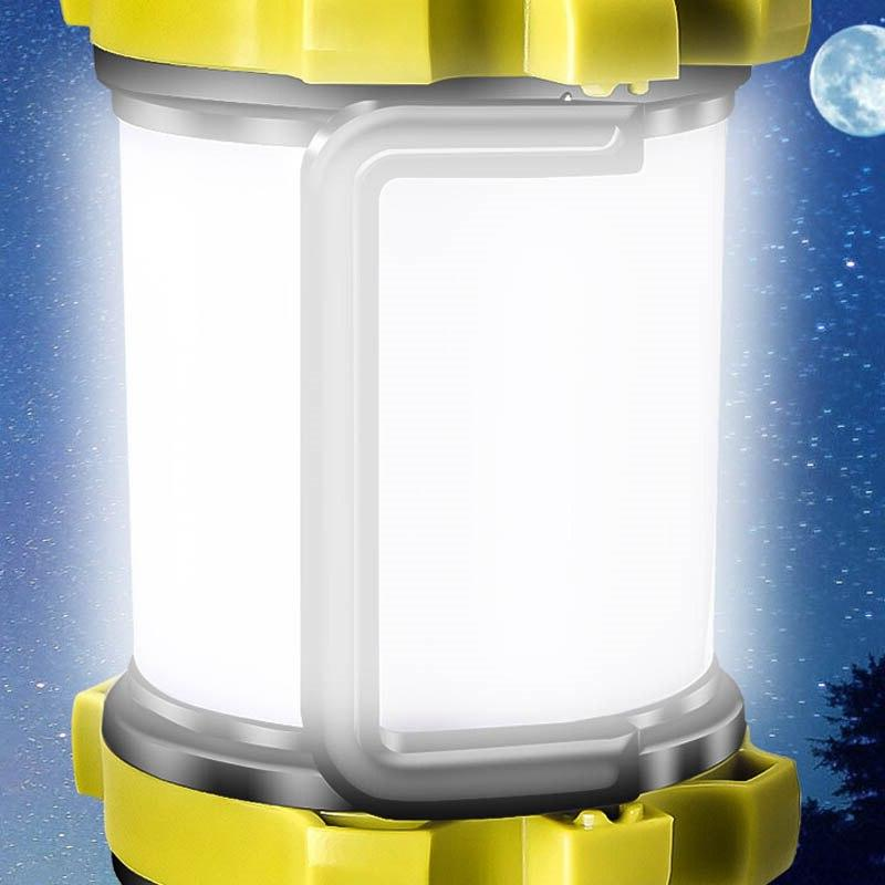 Light 4 Modes Emergency Outdoor Torch Powered Bank