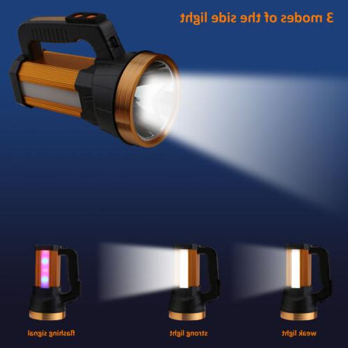 Bright LED Searchlight Handheld Frame