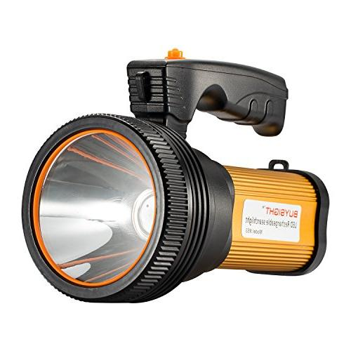bright rechargeable searchlight handheld flashlight
