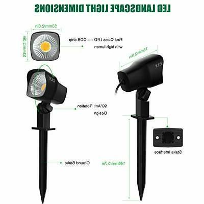 CLY 5W Landscape Spotlights Pathway Lights pack