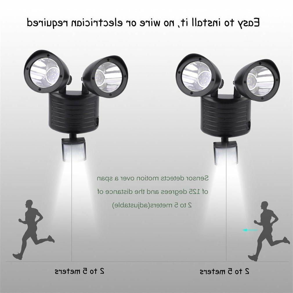 Dual Detector Spot Light Outdoor 22 LED