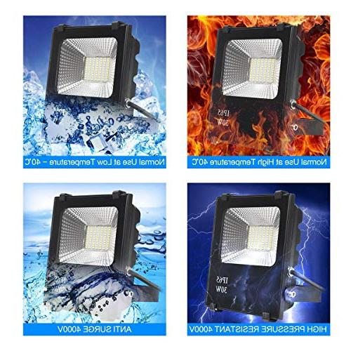 Richday New LED Outdoor Flood Fixture Daylight 6500k 150W