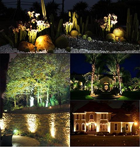 Lemonbest LED Landscape Down 5W White LED 110V Plug for Indoor Wall