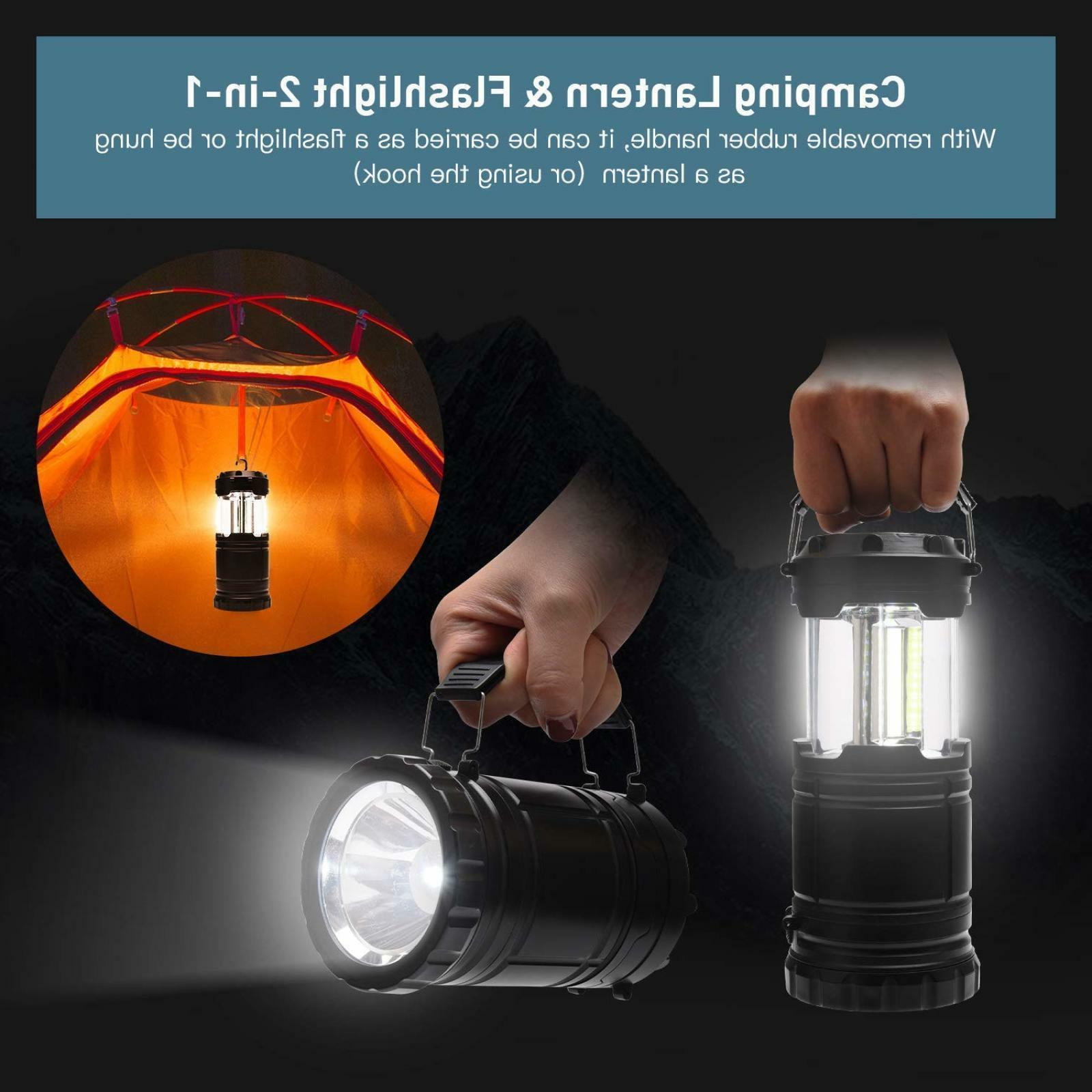 LED Camping Flashlight Handheld Camping