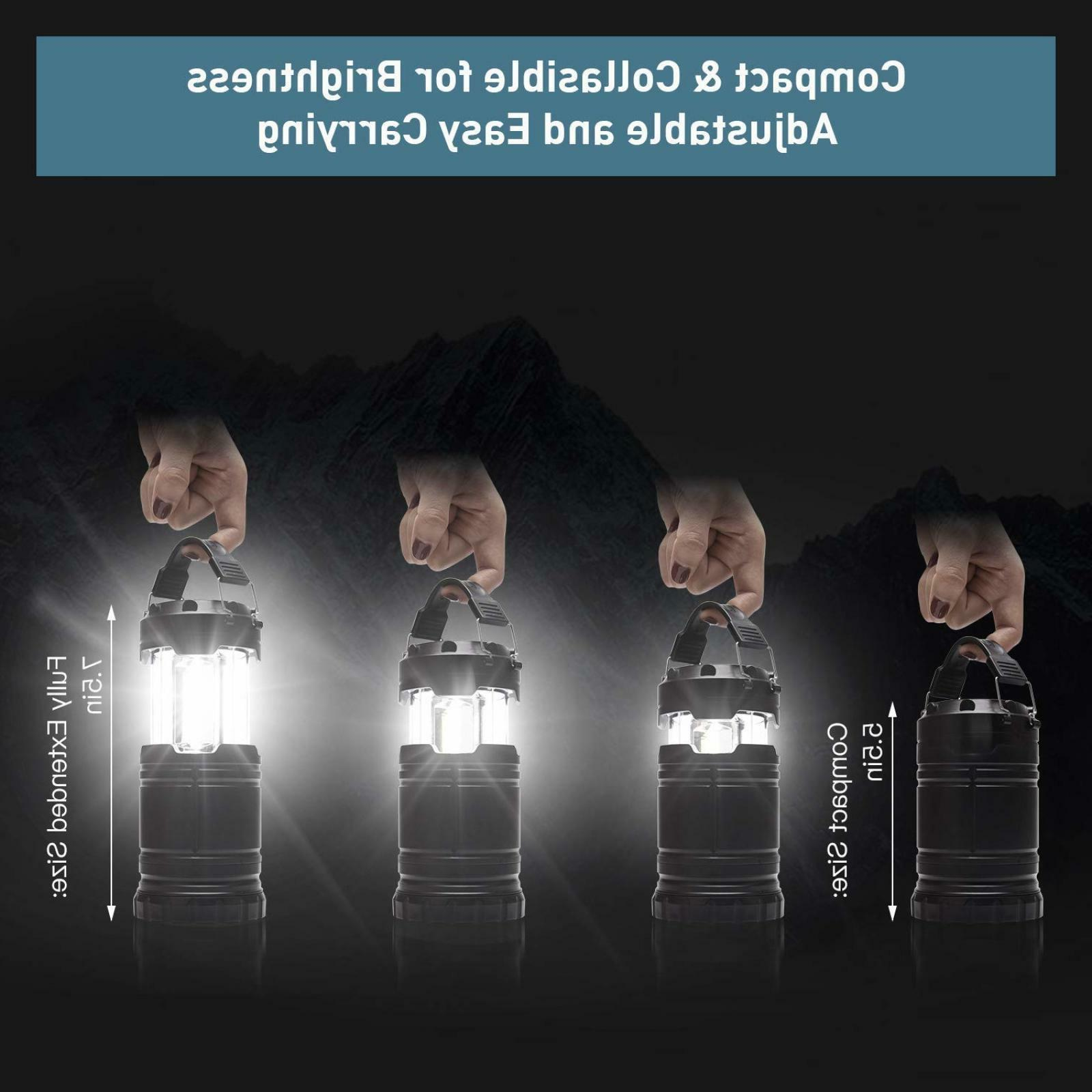 LED Flashlight Handheld Lamp 2 Pack