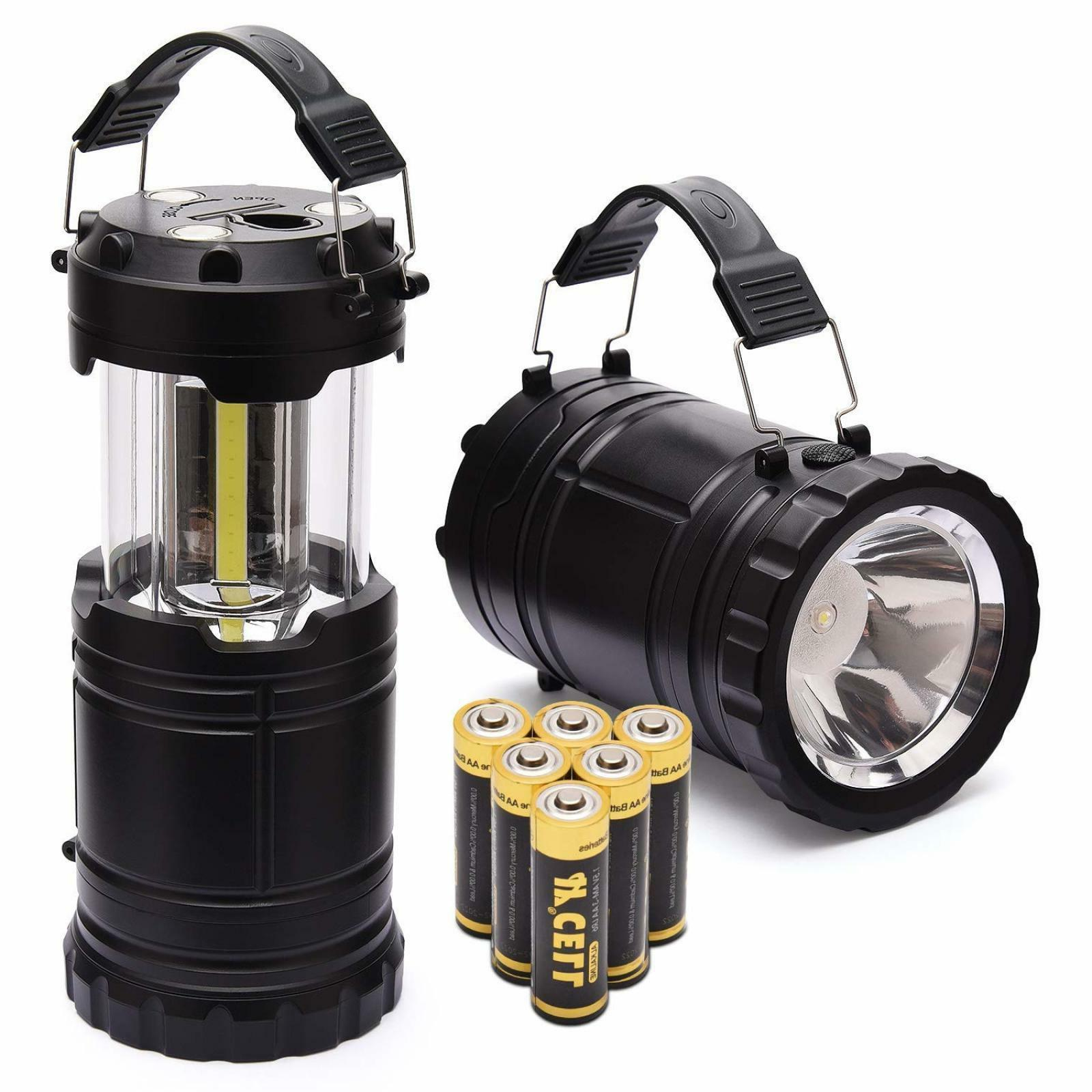 LED Camping Lantern  Flashlight Handheld Spotlight Camping E