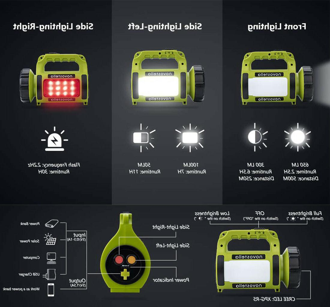 Rechargeable Camping Lantern Spot light Torch