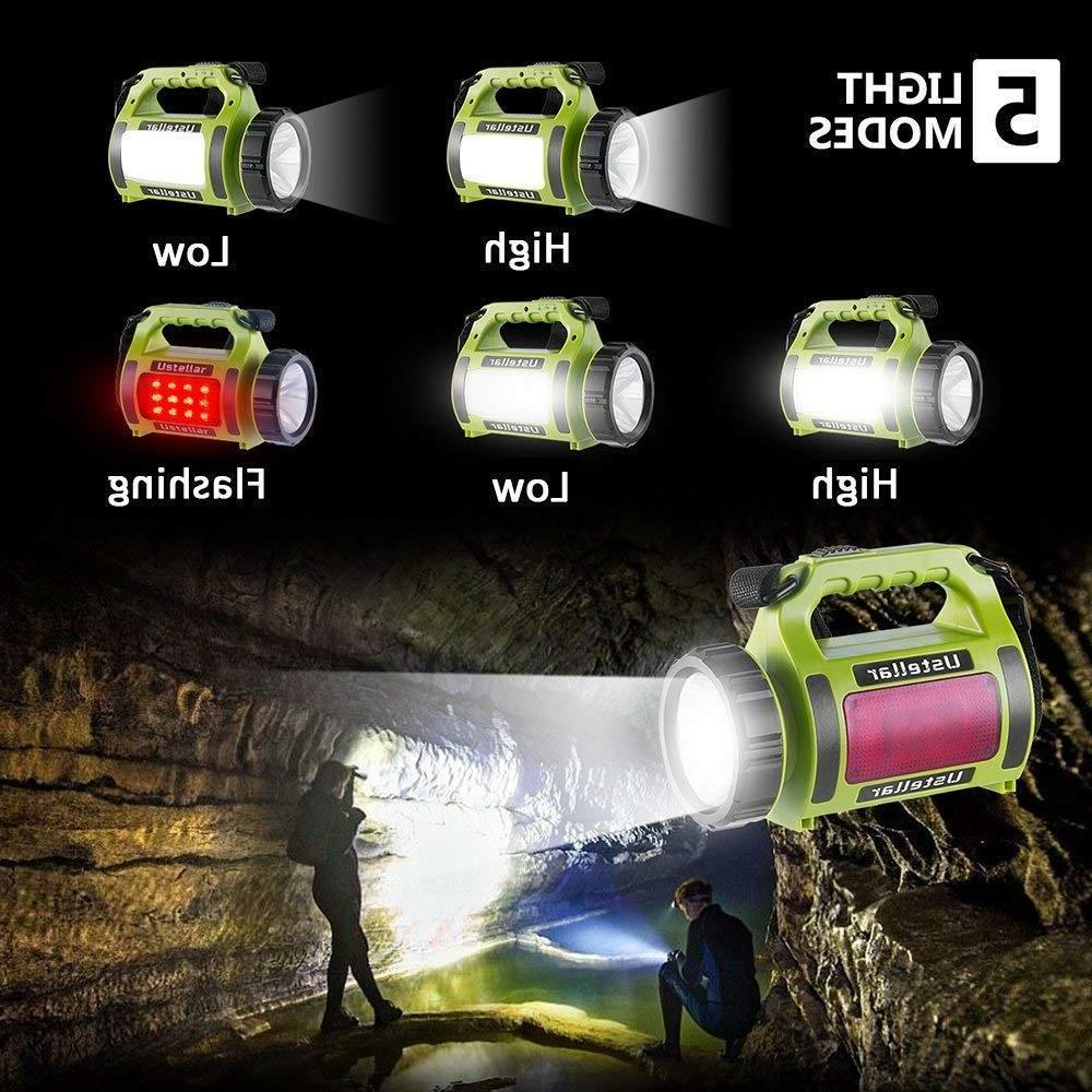 Rechargeable LED Flashlight Lantern light Torch