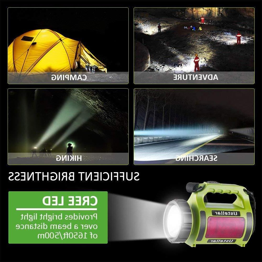 Rechargeable LED Lantern Spot Torch