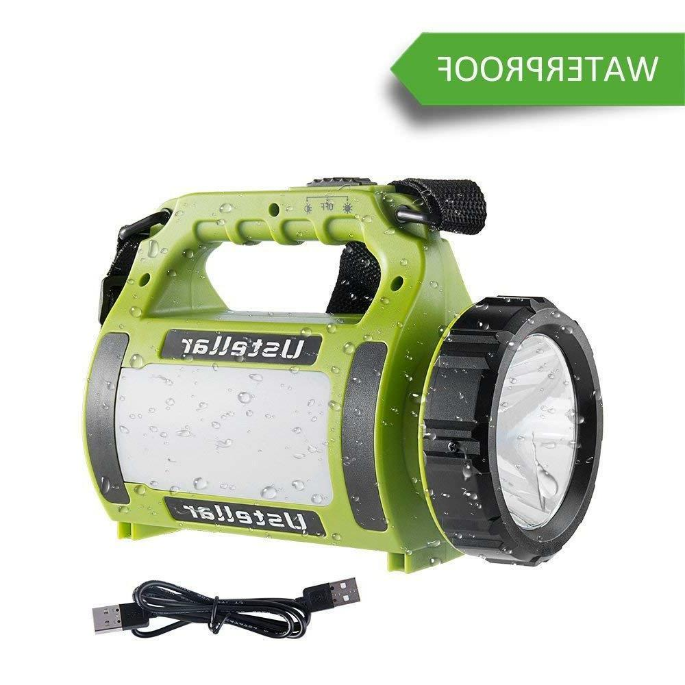 Novo Rechargeable LED Flashlight Camping Lantern Searchlight