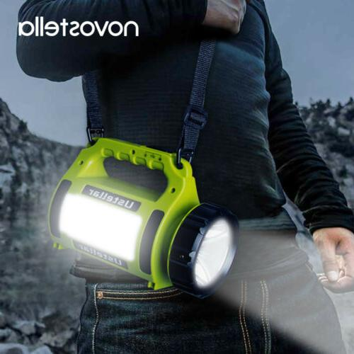 Rechargeable LED Flashlight Lantern Torch