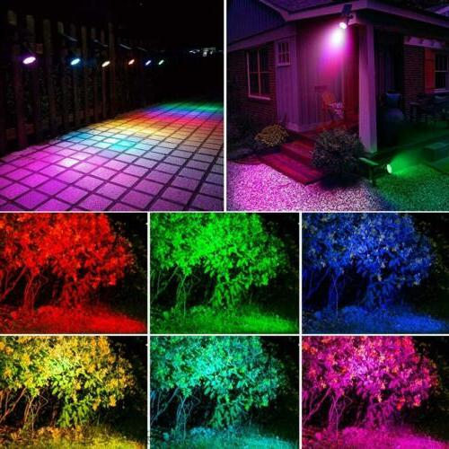 Outdoor Lights 7 LED Garden