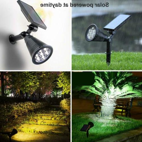 Outdoor Lights 7 Changing LED Garden Waterproof