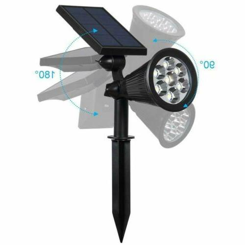 Outdoor Solar 7 Color LED Garden