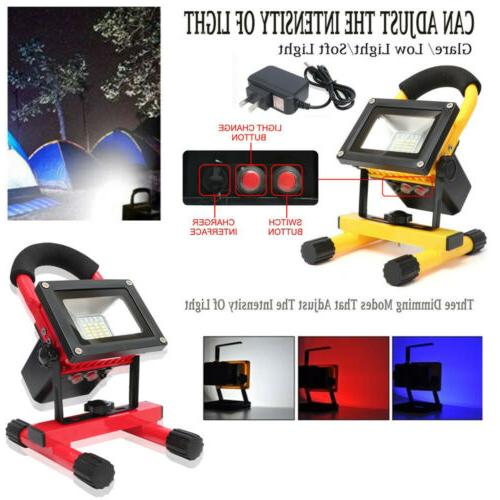 portable led work light usb 60w flood