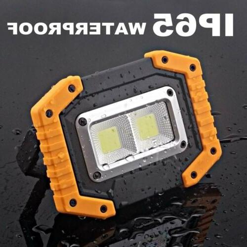 Rechargeable Lights Portable Floodlight Lamp