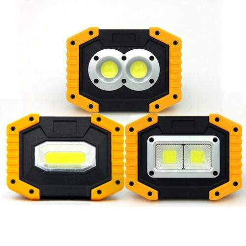 Rechargeable LED Lights Floodlight Lamp