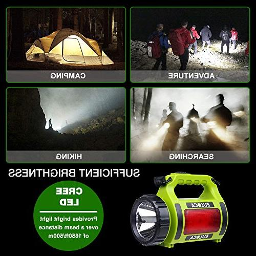 EULOCA CREE Spotlight, Multi Outdoor Camping Lantern Bank, LED with USB Cable, Hiking Emergency