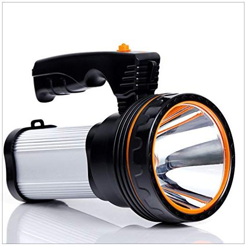 ROMER LED Searchlight 9000 MA CREE Torch Lantern Flashlight