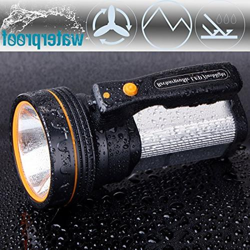 ROMER Searchlight Super 9000 MA CREE Spotlight Torch Lantern Flashlight
