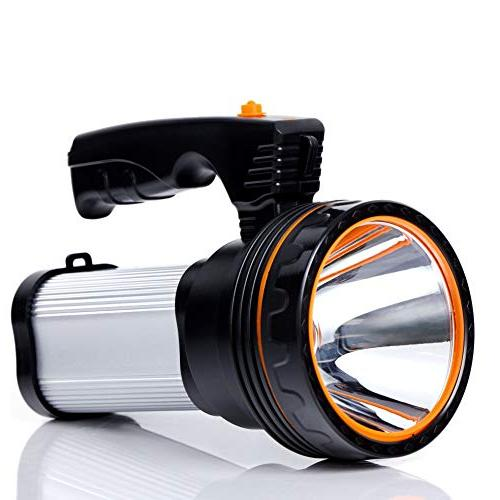 rechargeable handheld searchlight
