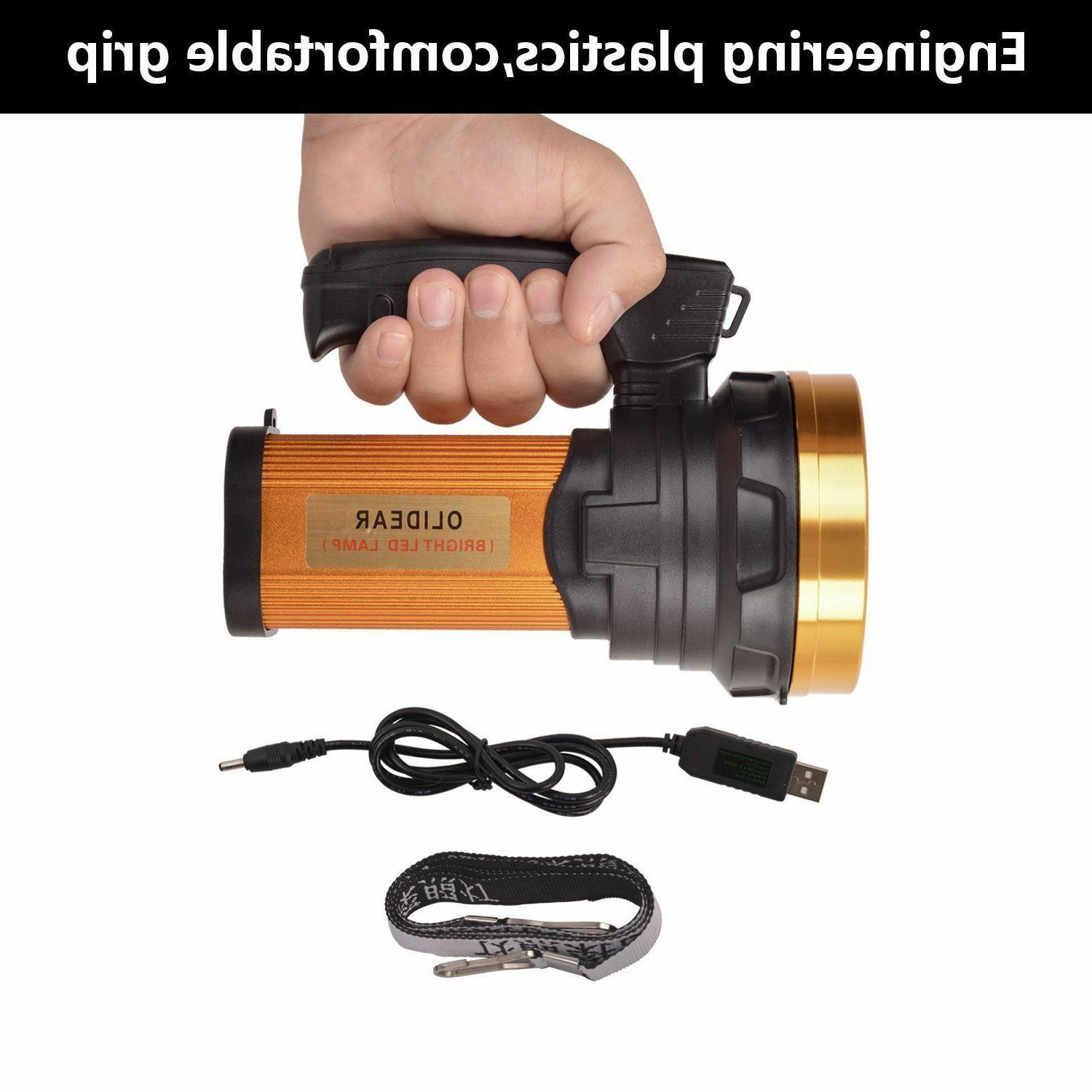 Olidear LED Spotlight Ultra Flashlight Handheld