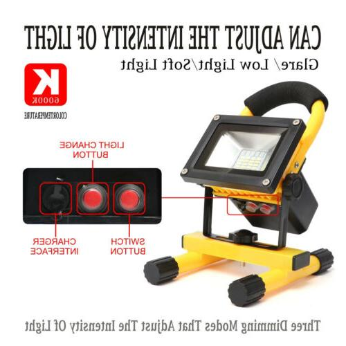 Rechargeable 60W LED Work Light Floodinglight Lamp