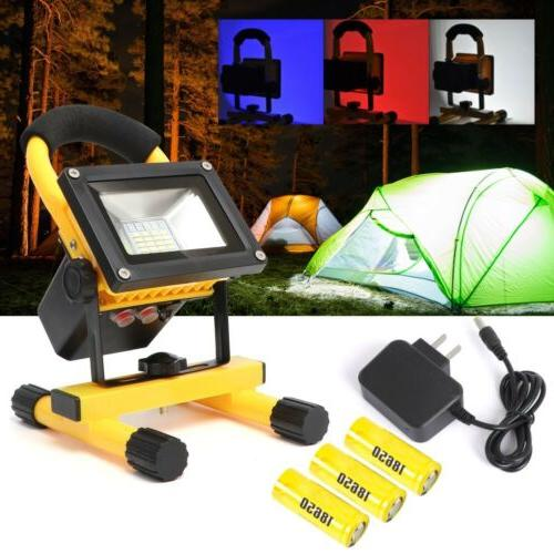 rechargeable portable 60w led work light floodinglight
