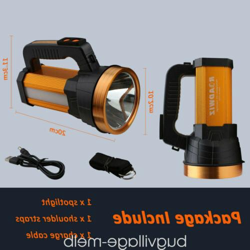 Rechargeable Portable Spotlight Super Bright