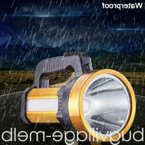 Rechargeable Searchlight LED Portable Spotlight Flashlight Super Bright