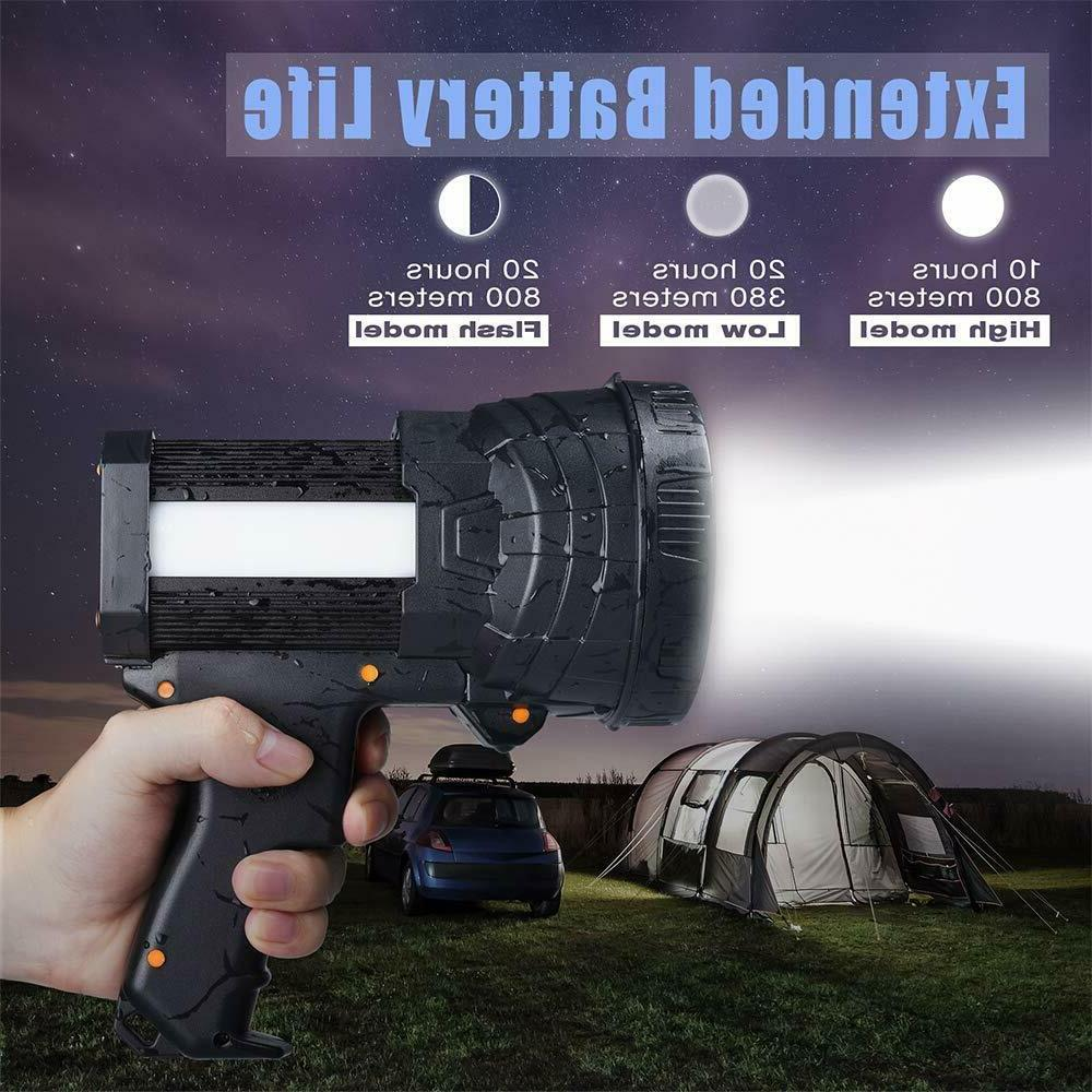 Rechargeable Super 6000 LED Handheld